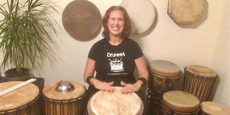 Universal Drumming Online  - Jan 2021 (4-week series) tickets