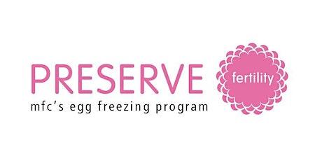 Egg Freezing Webinar tickets