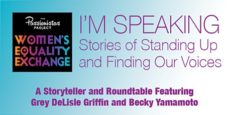 I'm Speaking: Stories of Standing Up and Finding Our Voices tickets