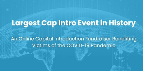 The Most World Most Exclusive Capital Intro Event for Startups tickets