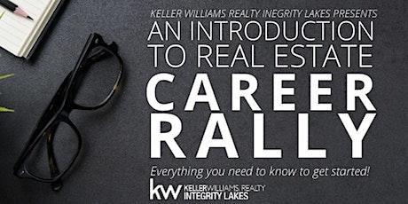 Keller Williams Minneapolis Real Estate Career Rally  - Evening tickets