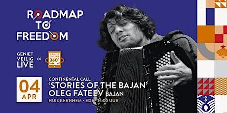Stories of the Bajan, feat. Oleg Fateev tickets