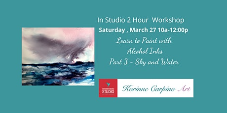 Learn to Paint with Alcohol Inks - Part 3 tickets