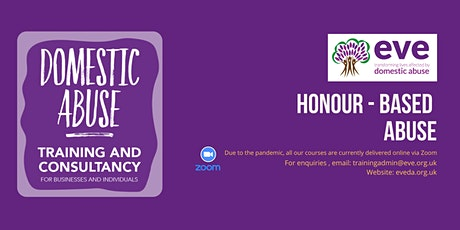 Honour Based Abuse tickets