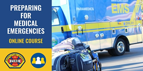 ONLINE Course: Preparing for Medical Emergencies - Campbell tickets