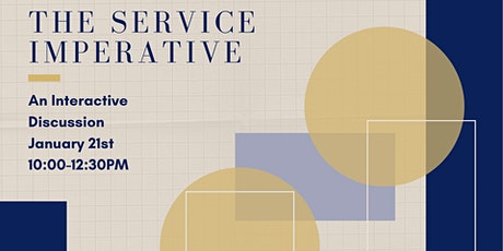Service Imperative- An Interactive Discussion tickets