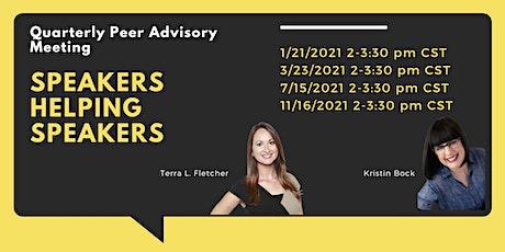 November Speakers Helping Speakers:  Theme TBA tickets