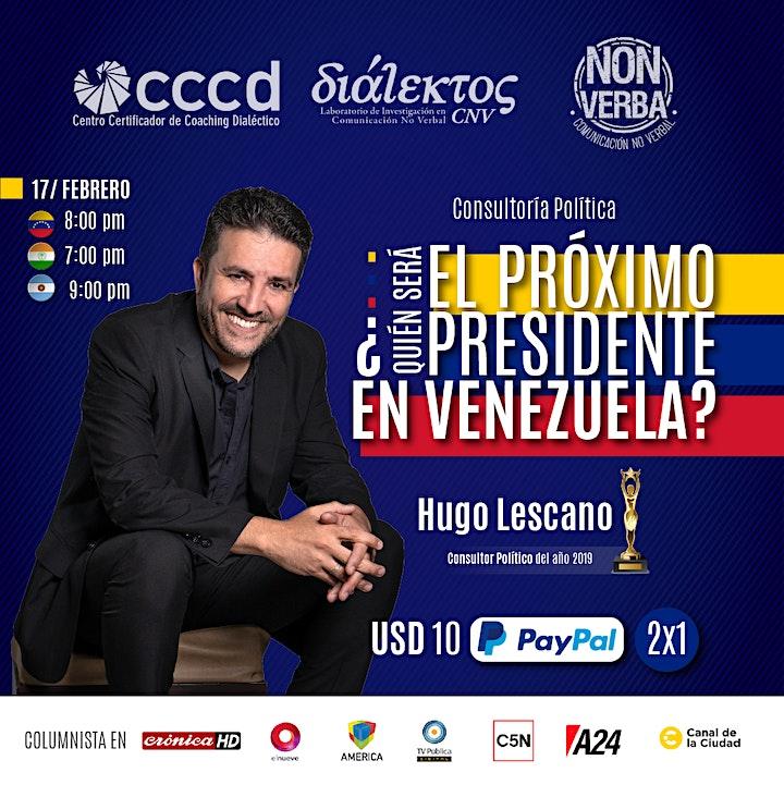 Imagen de ¿Quién será el próximo presidente en Venezuela?