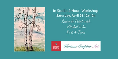 Learn to Paint with Alcohol Inks - Part 4 Trees tickets