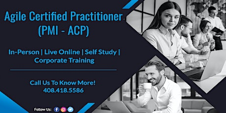 PMI – Agile Certified Practitioner(ACP) Training Program in Bloomington tickets
