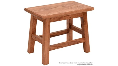 Post-and-Rail Cabinetry: Make a stool! tickets