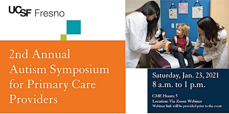 2nd Annual Autism Symposium for Primary Care Providers tickets