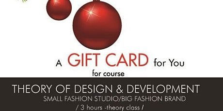 Fashion Course - Theory of Design and Development (offer expires 1/21/2021) tickets