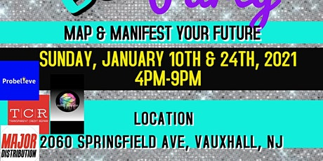 Map & Manifest Vision board workshop tickets