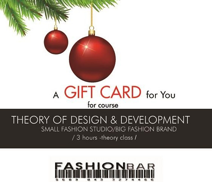 Fashion Course - Theory of Design and Development (offer expires 1/21/2021) image