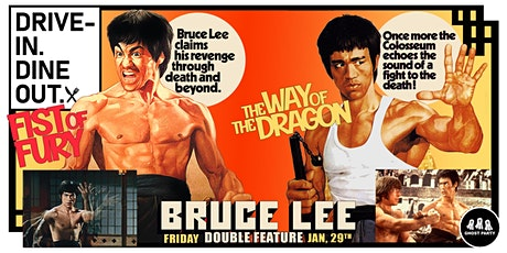 Fist of Fury + The Way of the Dragon - Tustin's Mess Hall Market tickets