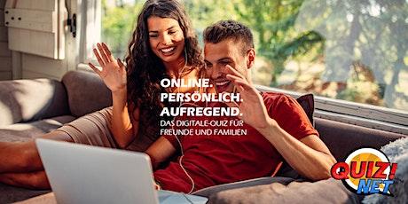 Online Quizabend mit Freunden, Familie oder Arbeitskollegen Tickets