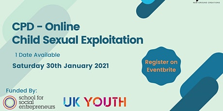 Child Sexual Exploitation Awareness Training for Youth Practitioners tickets