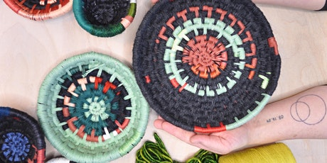Memory Bowls:  Reclaimed Fiber Basket Online Workshop tickets