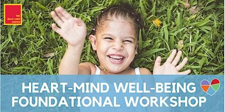 Virtual Heart-Mind Well-Being Workshop tickets