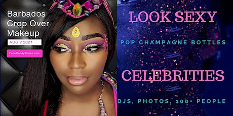 Carnival Makeup for Barbados Crop Over 2021 tickets