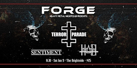 Terror Parade w/ Sentiment and Tetrament tickets