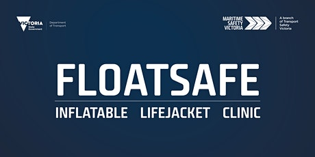 Floatsafe - inflatable lifejacket self-inspection clinic tickets