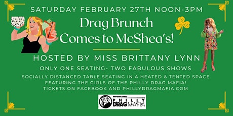 Drag Brunch at Mcshea's tickets
