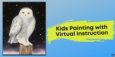Snowy Owl Painting for Kids (Virtual Instruction) tickets