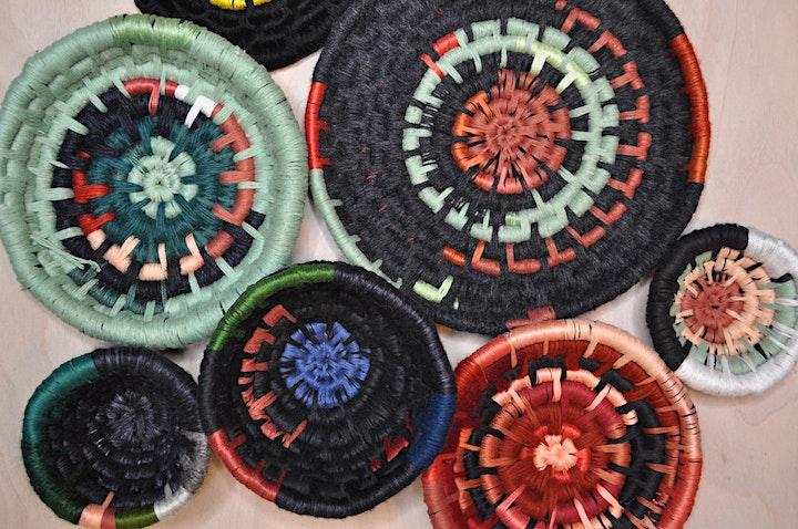 Memory Bowls:  Reclaimed Fiber Basket Online Workshop image