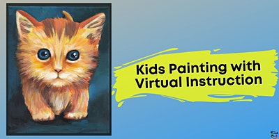 Kitty Painting for Kids (Virtual Instruction)