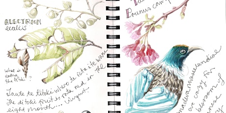 Nature journaling in the vege garden for beginners tickets