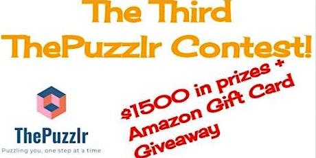 Free Math Contest at https://thepuzzlr.com/the-third-thepuzzlr-contest/ tickets