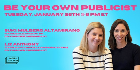 Be Your Own Publicist (Webinar) tickets