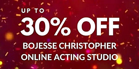 BoJesse Christopher Online Acting Studio  (Up to 30% OFF/New Year Sale) tickets