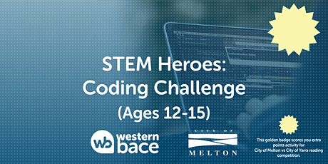 STEM HEROES: Coding Challenges (Ages 12-15) tickets