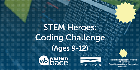 STEM HEROES: Coding Challenges  (Ages 9-12) tickets