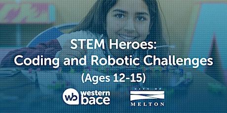 STEM HEROES: Robotics Challenges (Ages 12-15) tickets