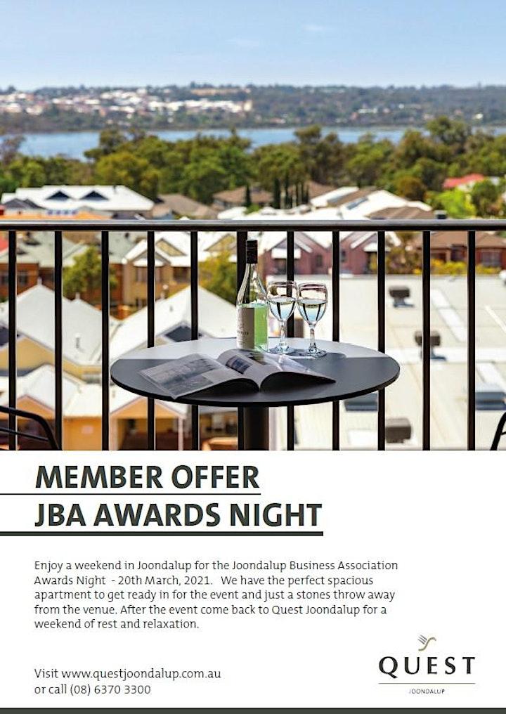 Community Vision Australia JBA Business Awards  2021 image