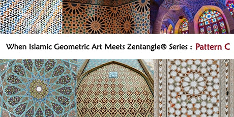 When Islamic Geometric Art Meets Zentangle® Series - Pattern C (Online) tickets