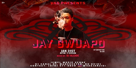 Vas presents Jay Gwuapo tickets