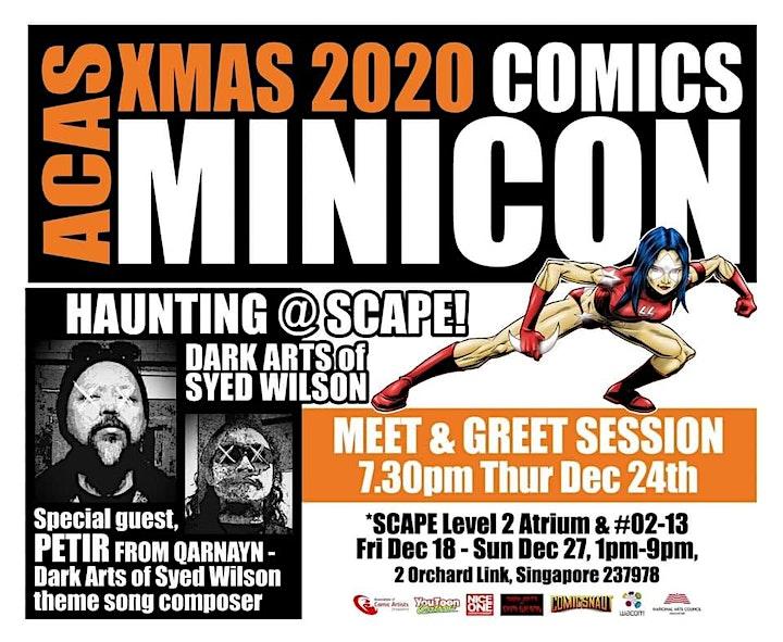 ACAS X'MAS 2020 COMICS MINICON @ SCAPE image