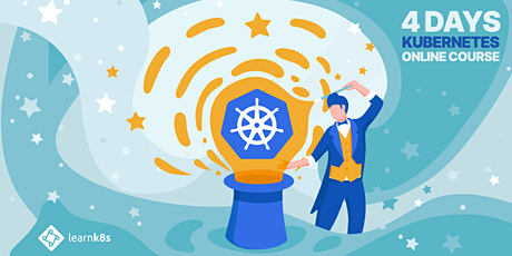 Advanced Kubernetes course — Online | 4 days tickets