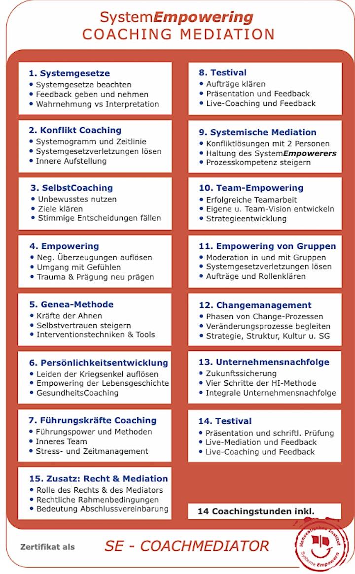 Online-Infoveranstaltung: AusbildungSystemischer Coach Mediator: Bild