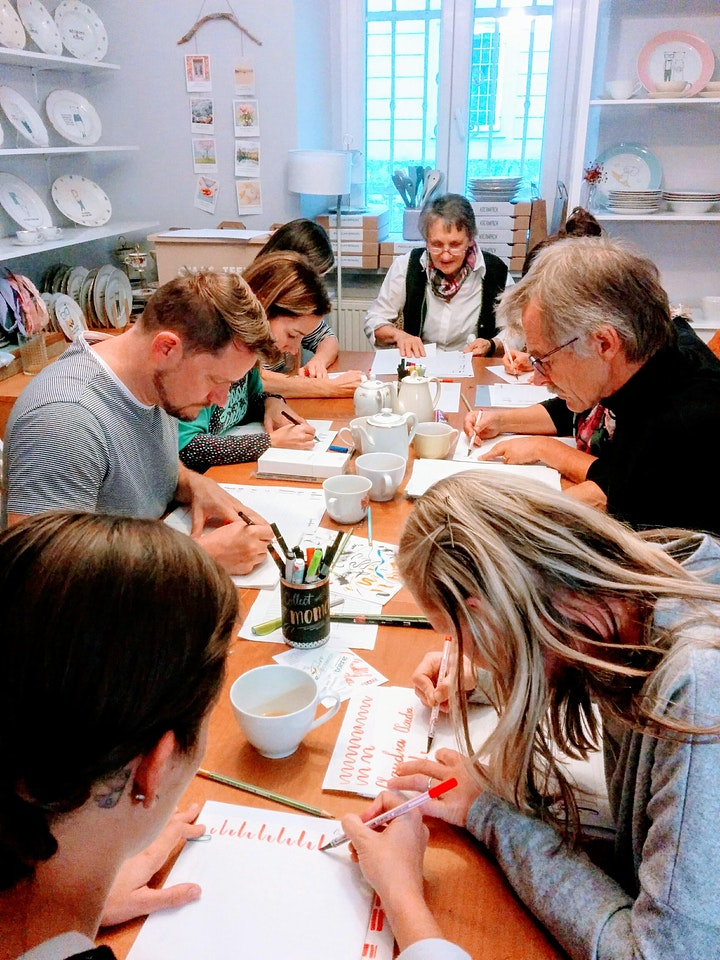 Brush-Lettering und wie es funktioniert! - Graz: Bild