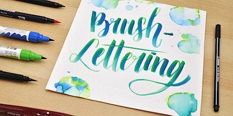 Brush-Lettering und wie es funktioniert! - Graz tickets
