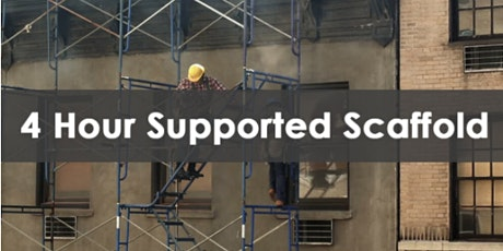 4 Hour Supported Scaffold User and Refresher tickets