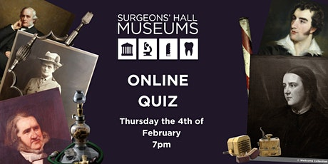 Surgeons Hall Museums Online Quiz tickets