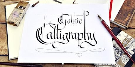 Gothic Calligraphy - schreiben mit Bandzugfeder und mehr - Graz tickets