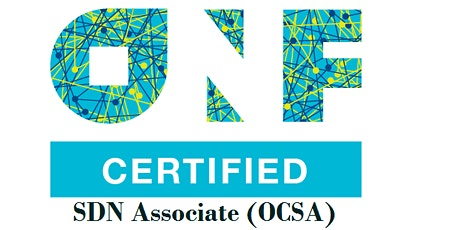 ONF-Certified SDN Associate (OCSA) 1Day Virtual  Training in Hamilton City tickets